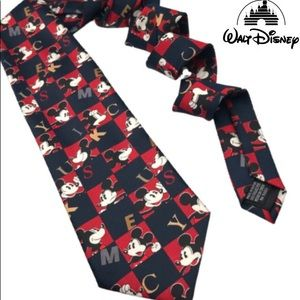 Vintage Disney Mickey Unlimited Neck Tie men's